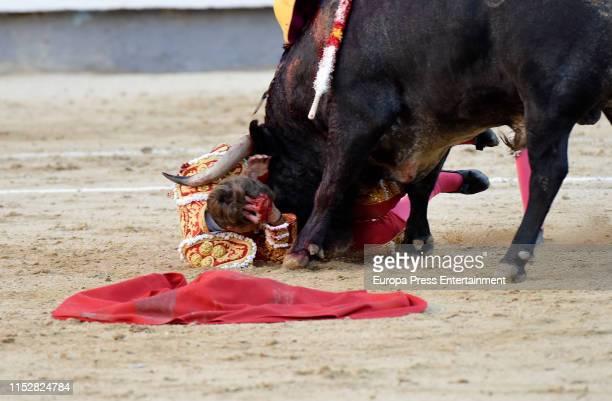 Manuel Escribano attends the 16th Bullfight of the San Isidro Fair at Las Ventas bullring at Las Ventas Bullring on May 30 2019 in Madrid Spain