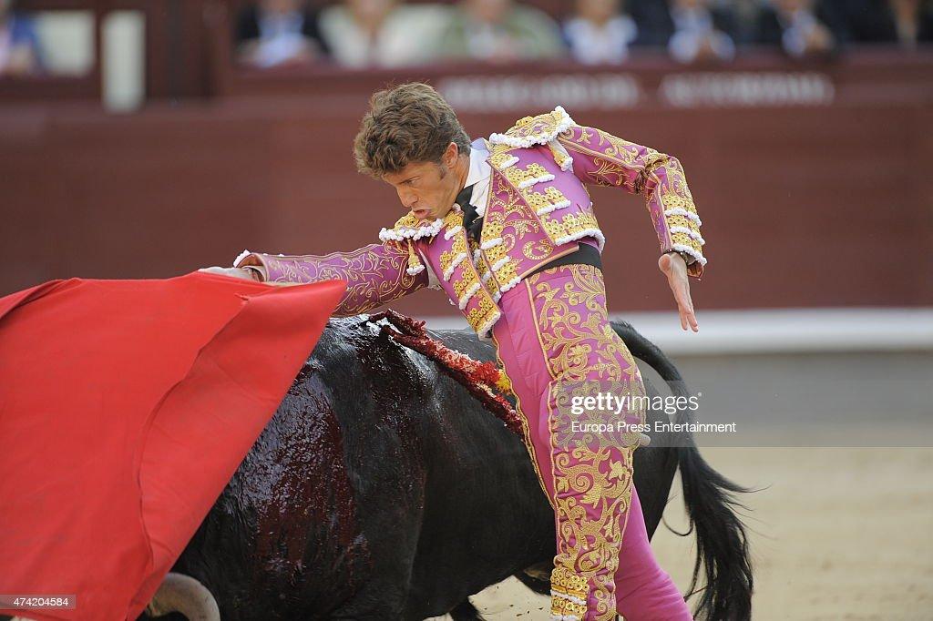 King Juan Carlos Attends Press Association Bullfighting In Madrid