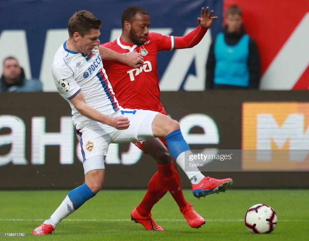 FC Lokomotiv Moscow vs PFC CSKA Moscow - Russian Premier League : News Photo