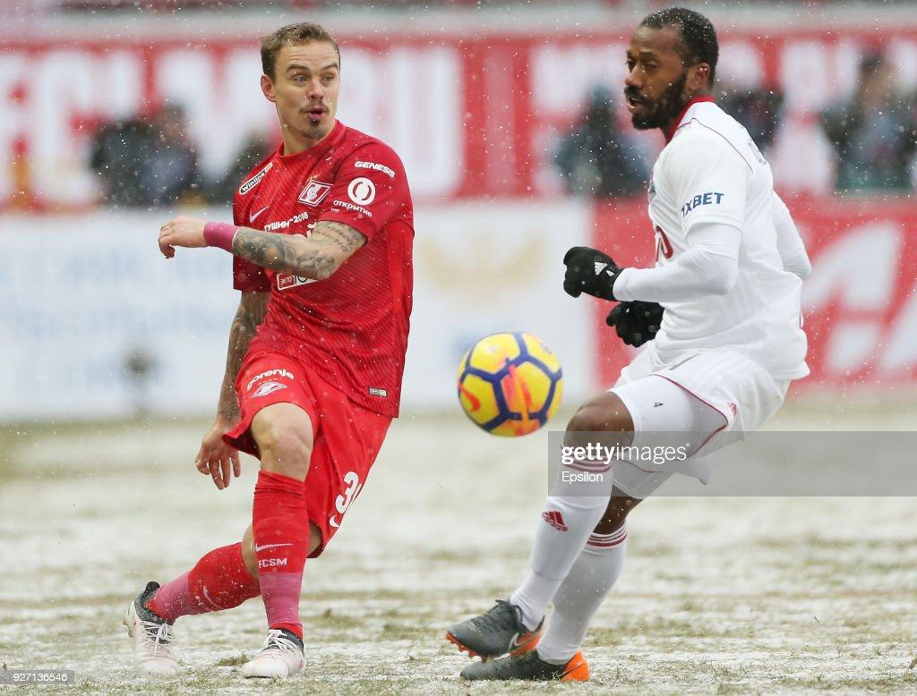 FC Lokomotiv Moscow vs FC Spartak Moscow - Russian Premier League