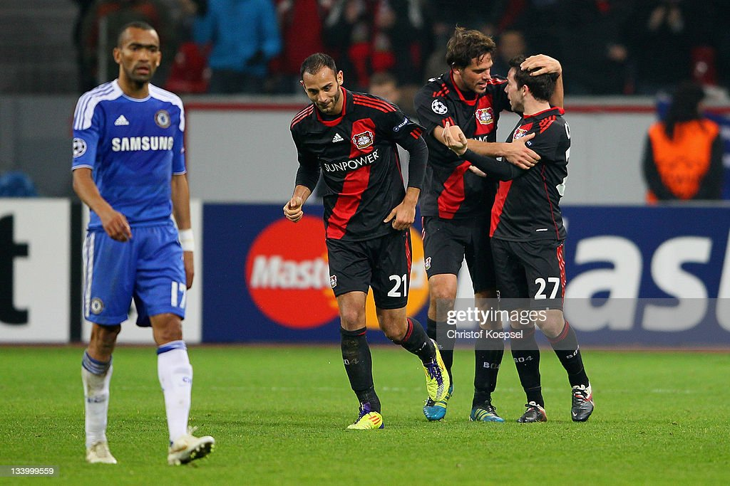 Bayer 04 Leverkusen v Chelsea FC - UEFA Champions League : News Photo