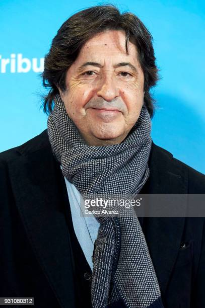 Manuel Gomez Pereira attends 'La Tribu' premiere at the Capitol cinema on March 12 2018 in Madrid Spain