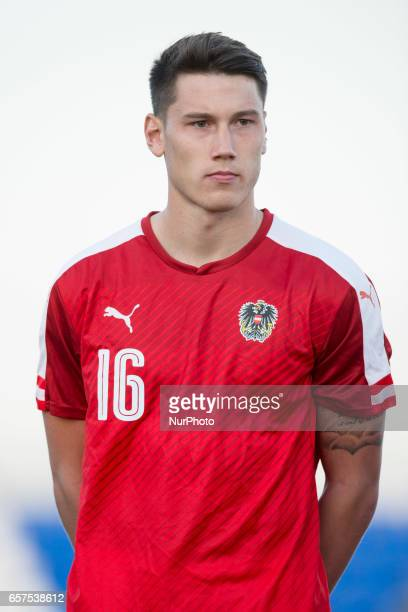 Manuel Hass during the friendly match of national teams U21 of Austria vs Australia at Pinatar Arena on March 24 2017 in Murcia Spain