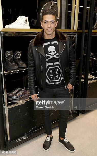Manuel Lanzini attends a cocktail party to celebrate the opening of the Philipp Plein London Boutique on December 15 2016 in London England