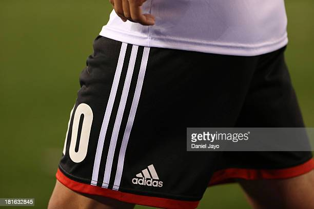 Manuel Lanzini of River Plate during a match between River Plate and All Boys as part of the Torneo Inicial 2013 at Monumental Stadium on September...