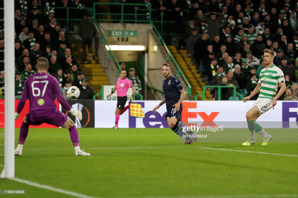 Celtic FC v Lazio Roma: Group E - UEFA Europa League : News Photo