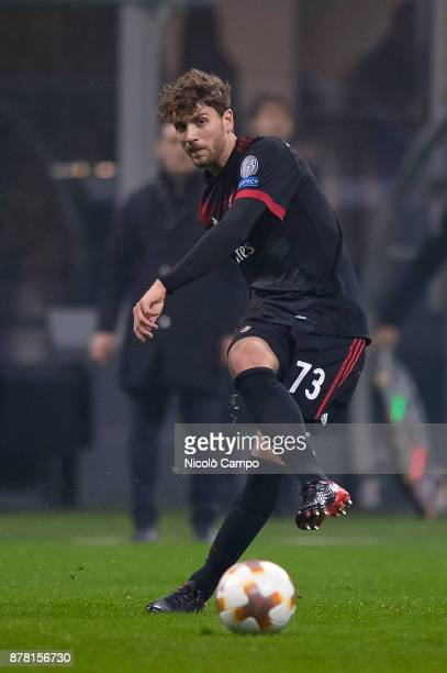 Manuel Locatelli of AC Milan in action during the UEFA Europa League football match between AC Milan and FK Austria Wien AC Milan wins 51 over FK...