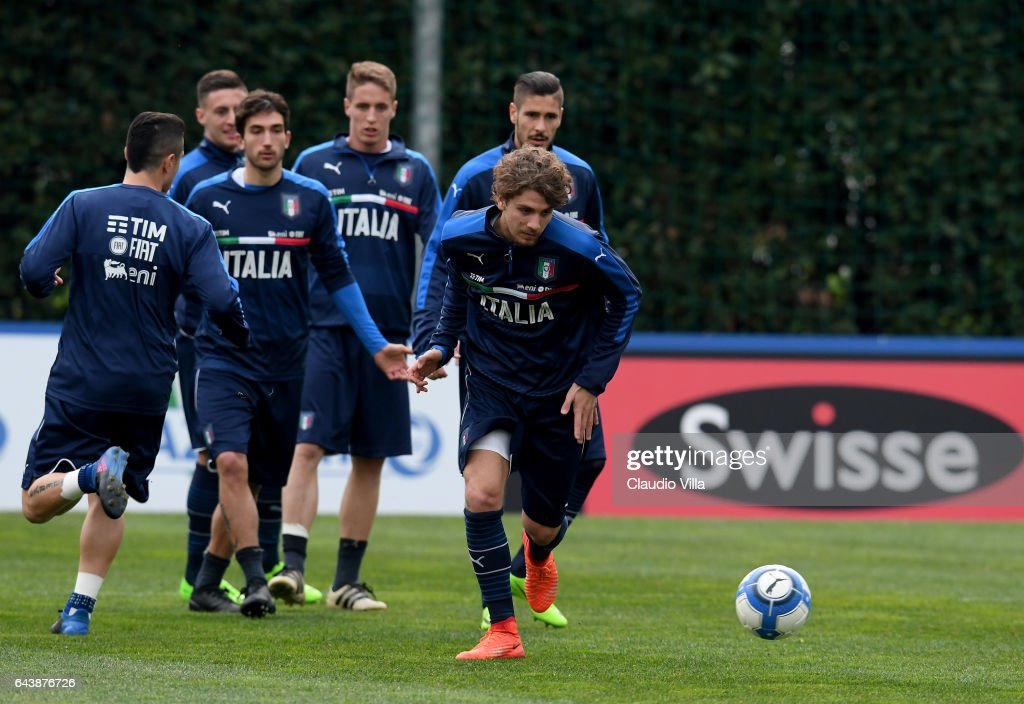 Italy Training Session : News Photo