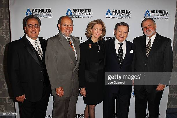 Manuel Loya Dr Robert Harris Maria Cooper Janis Byron Janis and Dr Jack Klippel arrive at the Arthritis Foundation's Commitment To A Cure Awards Gala...