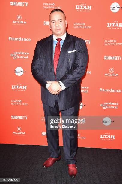 Manuel 'Manny' Gomez attends the 'Crime And Punishment' Premiere during the 2018 Sundance Film Festival at The Ray on January 19 2018 in Park City...