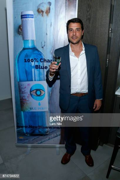 Manuel Martinez attends the Blu Perfer Blue Brut Launch Party for The 2018 8th annual Better World Awards on November 15 2017 in New York City