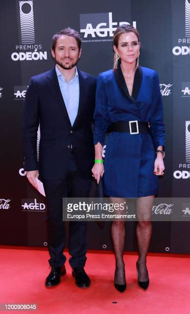 Manuel Martos Figueroa and Amelia Bono attend Odeon Awards 2020 at Royal Theater on January 20 2020 in Madrid Spain