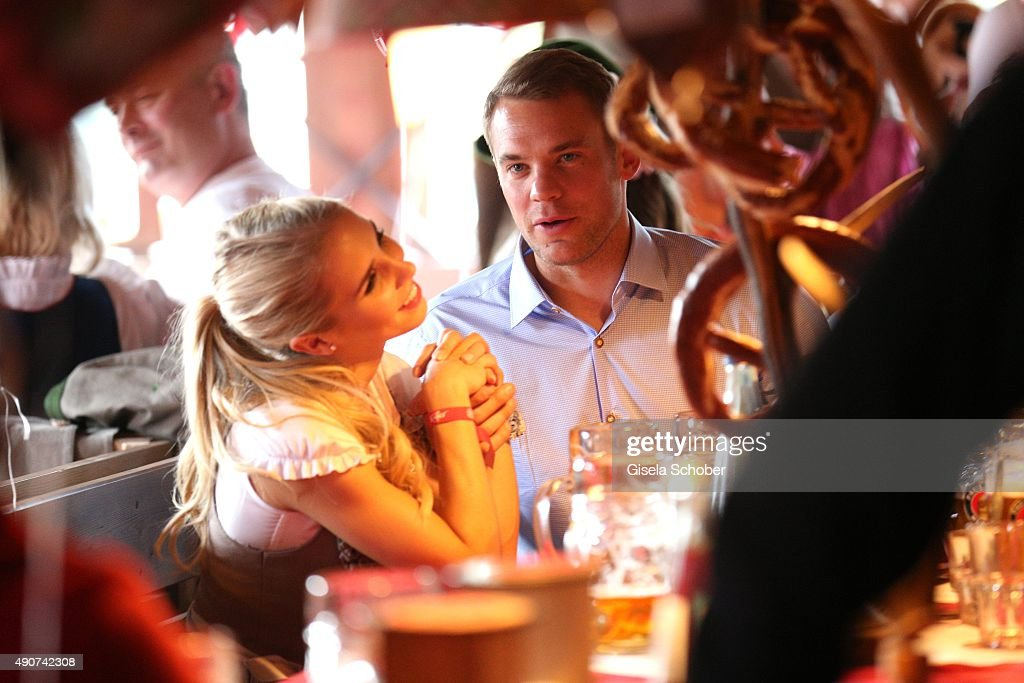 FC Bayern Muenchen Attends Oktoberfest 2015 : News Photo