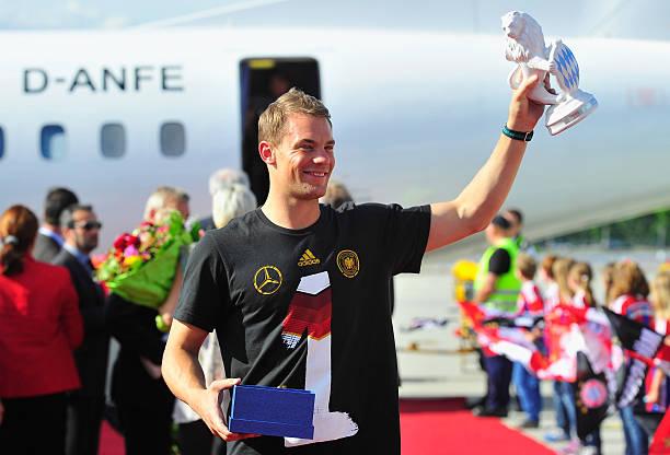 DEU: Munich Welcomes World Champions After 2014 FIFA World Cup Brazil