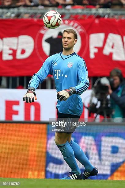 Manuel Neuer Bayern München FC Bayern München Mainz 05 1 Fussball Bundesliga Saison 2014 / 2015
