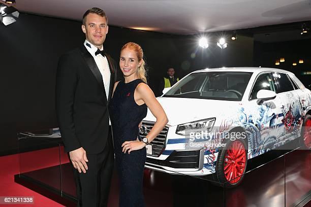 Manuel Neuer goal keeper FC Bayern Munich and his girlfriend Nina Weiss during the 23rd Opera Gala benefit to 'Deutsche AIDSStiftung' at Deutsche...