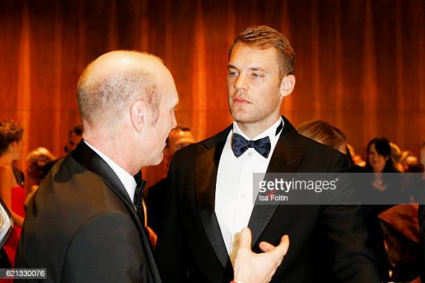 Manuel Neuer goal keeper of the german national soccer team attends the 23rd Opera Gala at Deutsche Oper Berlin on November 5 2016 in Berlin Germany