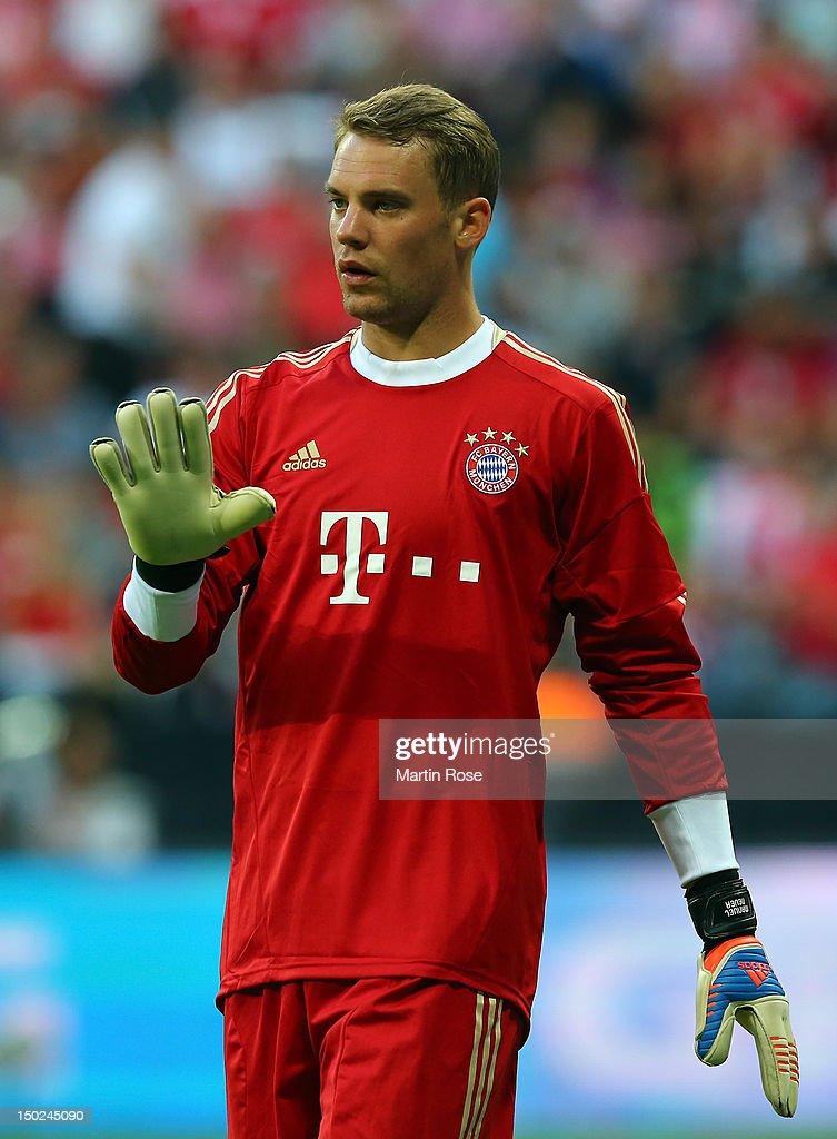 Bayern Muenchen v Borussia Dortmund - Bundesliga Supercup 2012 : News Photo