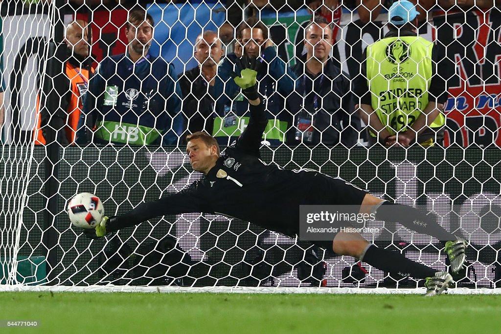 Germany v Italy - Quarter Final: UEFA Euro 2016 : Foto jornalística