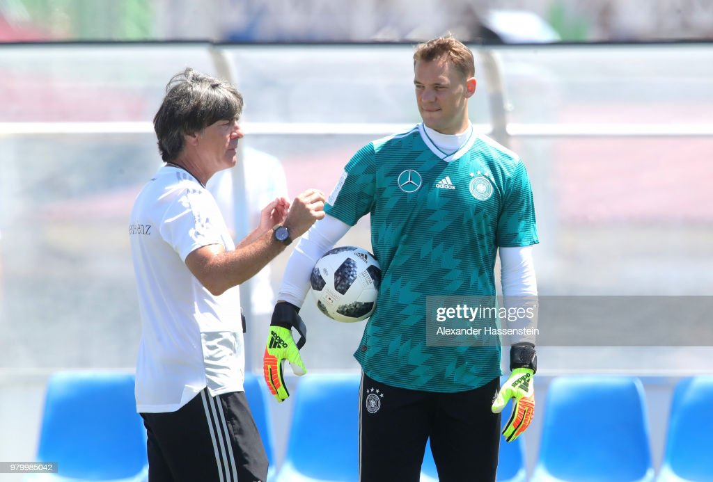 Germany Training & Press Conference : News Photo