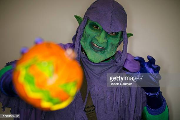 Manuel Nieves Ferrer as the Green Goblin from Spiderman at Comic Con International 2016on July 21 in San Diego California