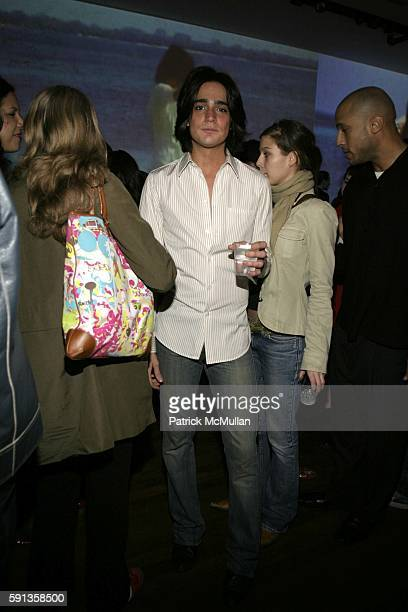 Manuel Norena attends Adidas and Yohji Yamamoto Launch the Y3 Collection at Yohji Yamamoto Boutique on February 9 2005