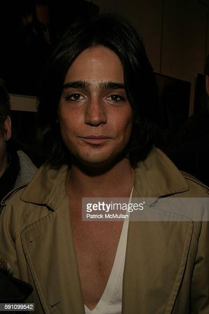 Manuel Norena attends Edie Sedgwick Unseen Photographs of a Warhol Superstar Opening Reception Hosted by Misha Sedgwick at Gallagher's Art and...