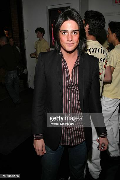 Manuel Norena attends Robert Duffy and Marc Jacobs Host A Book Launch Party For Francine Prose's 'A Changed Man' at Marc Jacobs Store on April 12...