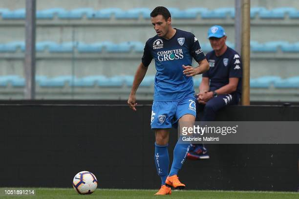 Manuel Pasqual of Empoli FC in action during friendly match between Empoli FC and Empoli FC U19 on October 11 2018 in Empoli Italy