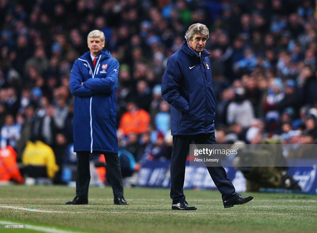 Manchester City v Arsenal - Premier League : News Photo