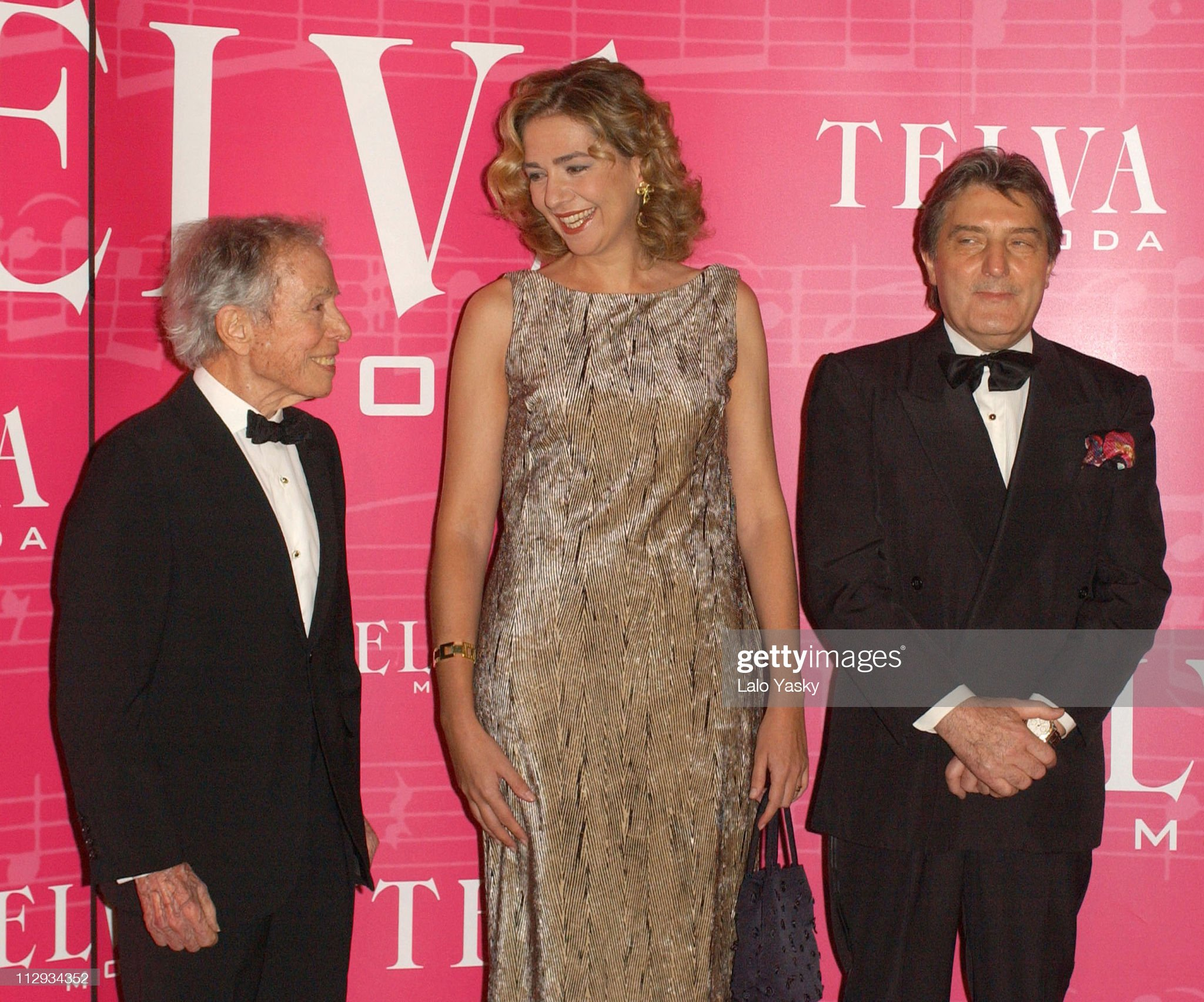 2002 Telva Awards Honors Emanuelle Ungaro and Manuel Pertegaz : News Photo