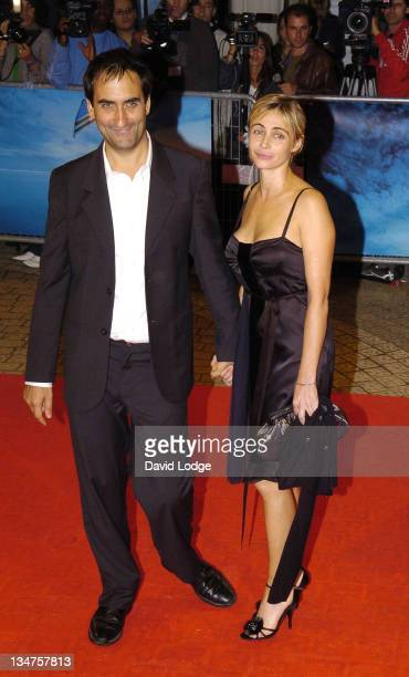 Manuel Pradal and Emmanuelle Beart during 32nd Deauville Film Festival 'A Crime' Premiere at Deauville Film Festival in Deauville France