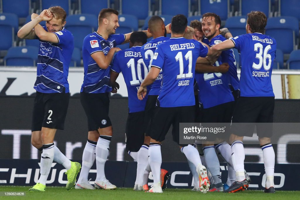 DSC Arminia Bielefeld v SV Darmstadt 98 - Second Bundesliga : News Photo