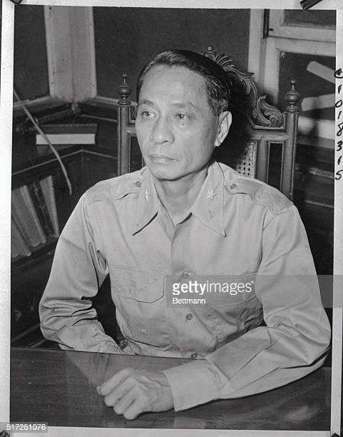 Manuel Roxas Filipino leader and patriot is pictured at his desk in his Manila home Insiders today regard Roxas as Sergo Osmena's Chief rival for the...