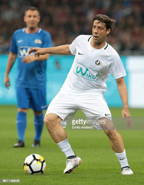 Manuel Rui Costa in action during Andrea Pirlo Farewell Match at Stadio Giuseppe Meazza on May 21 2018 in Milan Italy
