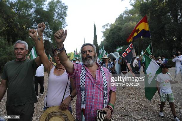 Manuel Sanchez Gordillo the mayor of the village of Marinaleda and a member of the regional parliament for the United Left party in the Andalucian...