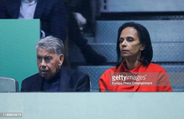 Manuel Santana attends Copa Davis Finals at Caja Magica on November 19 2019 in Madrid Spain