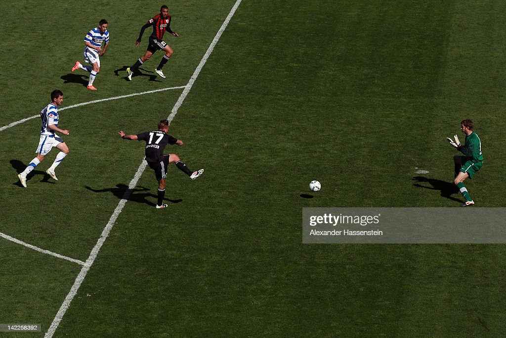 FC Ingolstadt v MSV Duisburg - 2. Bundesliga : News Photo