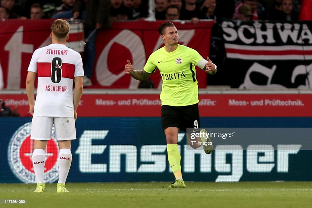 VfB Stuttgart v SV Wehen Wiesbaden - Second Bundesliga : News Photo
