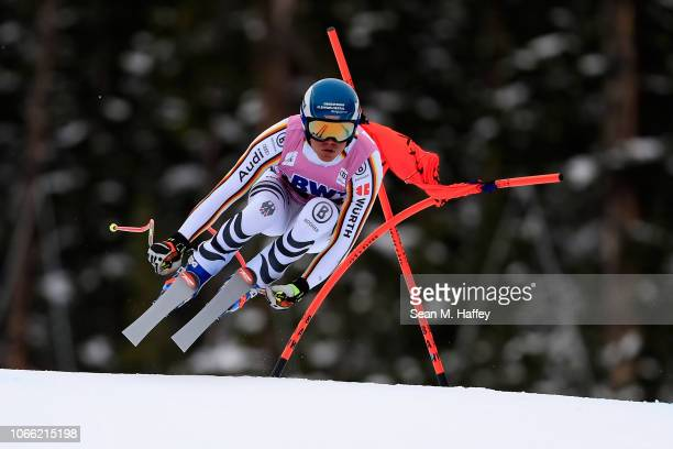 Manuel Schmid of Germany skis during the Audi FIS Alpine Ski World Cup Men's Downhill Training on November 28 2018 in Beaver Creek Colorado