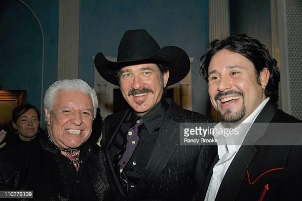 Manuel Sr., Kix Brooks and Manuel Jr. During The 39th Annual CMA Awards - Nominees' Reception at Gracie Mansion - Inside at Gracie Mansion in New...