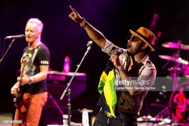 Manuel Valls attends Starlite Music Festival Sting on July 19 2018 in Marbella Spain
