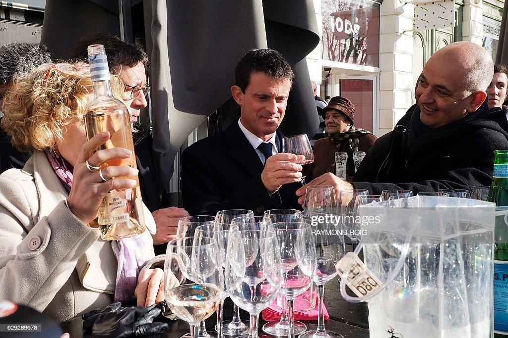 FRANCE-VOTE-PRIMARIES-LEFT : News Photo