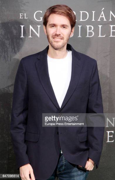 Manuel Velasco attend 'El Guardian Invisible' premiere at Capitol cinema on March 1 2017 in Madrid Spain