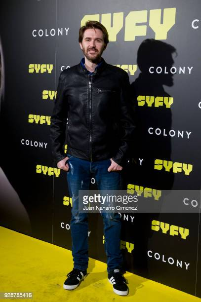 Manuel Velasco attends Colony' Tv Series Season 1 Madrid Premiere on March 7 2018 in Madrid Spain