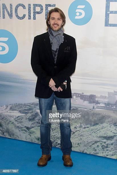 Manuel Velasco attends 'El principe' premiere at Callao cinema on January 30 2014 in Madrid Spain