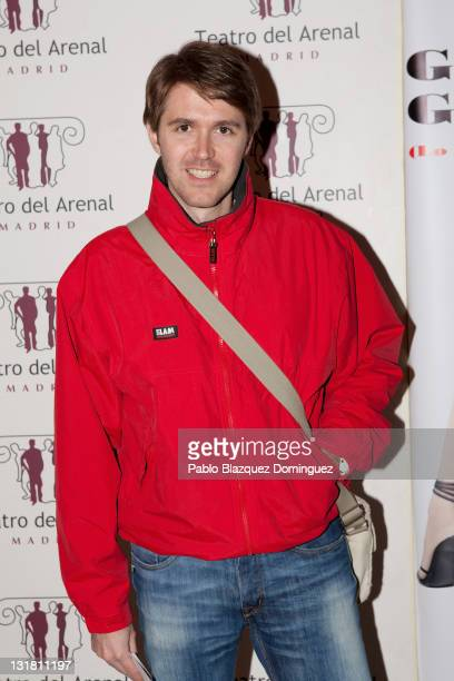 Manuel Velasco attends 'Good Sex Good Day' photocall at Arenal Theatre on February 17 2011 in Madrid Spain