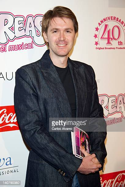 Manuel Velasco attends Grease premiere at Arteria Coliseum Theater on March 6 2012 in Madrid Spain