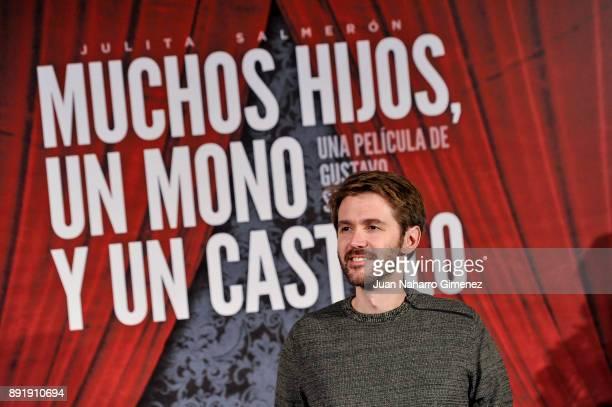 Manuel Velasco attends 'Muchos Hijos Un Mono Y Un Castillo' premiere at Callao Cinema on December 13 2017 in Madrid Spain