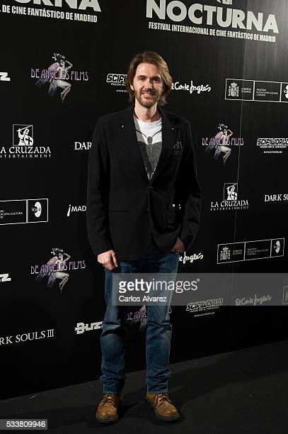 Manuel Velasco attends Nocturna Fantastic Film Festival at the Palafox cinema on May 23 2016 in Madrid Spain